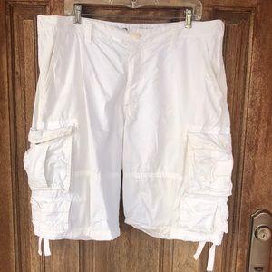 Old Navy white Cargo shorts